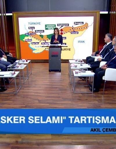 """""""Asker selamı"""" ve siyasette """"Fetih"""" tartışması Akıl Çemberi'nde masaya yatırıldı"""