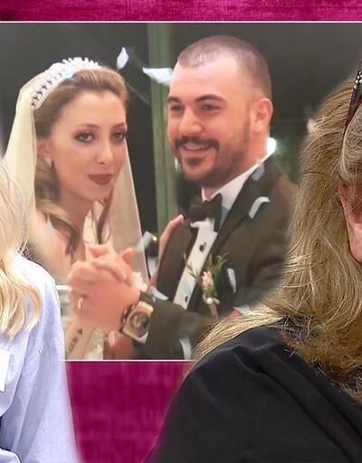 Kübra'nın düğününden önemli anlar