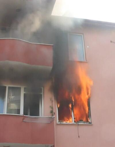 Baba ve kızı yangında öldü