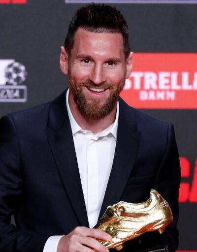 Messi 6. kez Altın Ayakkabı'nın sahibi