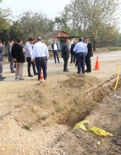 Yenişehir'in kırsal mahallelerine doğalgaz kazandıracak çalışmalar başladı