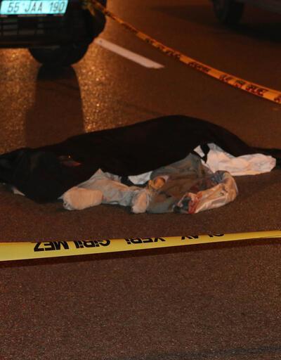 Camiye giderken otomobilin çarptığı yaya öldü
