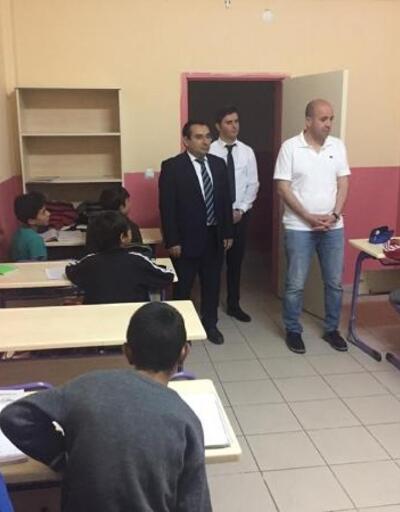 Kaymakam Karaosmanoğlu'ndan öğrencilere ziyaret