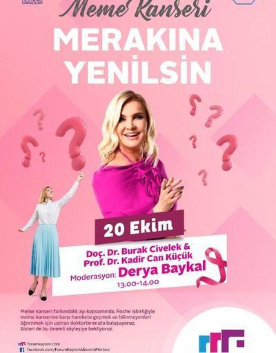 Forum Kayseri'de 'meme kanseri' buluşması