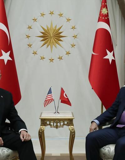 Son dakika... Cumhurbaşkanı Erdoğan, Pence ile görüştü