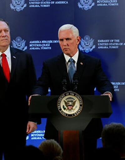 ABD Başkan Yardımcısı Mike Pence: YPG'nin çekilmesi başladı