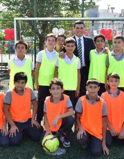 Kepez'den Çamlıbel'e Semt Spor Sahası
