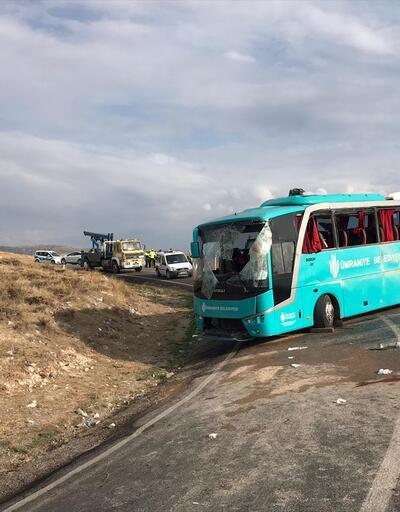Son dakika... Çankırı'da otobüs devrildi: Çok sayıda yaralı var
