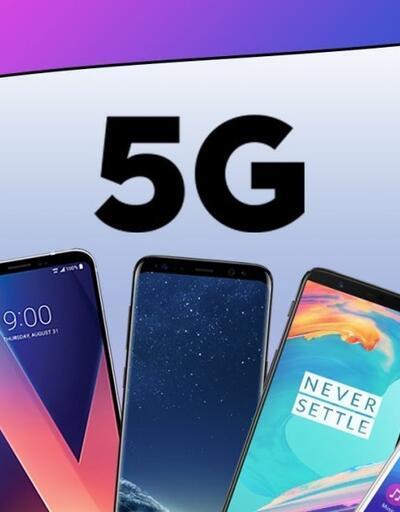2020'de 5G uyumlu telefonlar yok satacak