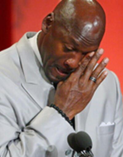 Michael Jordan'ın gözyaşları