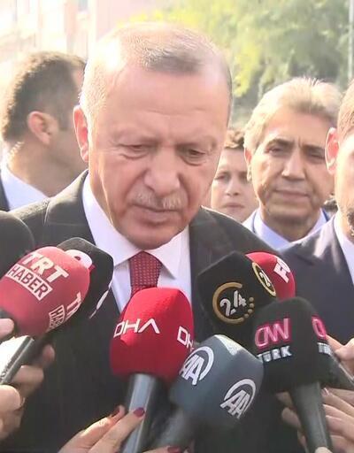 Son dakika: Cumhurbaşkanı Erdoğan: 120 saatlik bir süreç işliyor