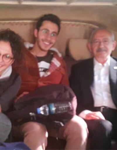 Kılıçdaroğlu, otostop çeken öğrencileri kampüse bıraktı