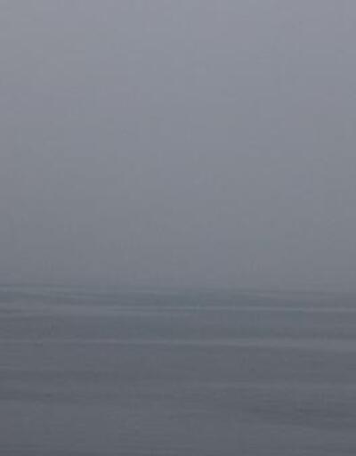 Çanakkale Boğazı, sis nedeniyle transit gemi geçişlerine kapatıldı