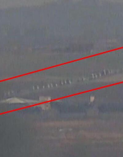 PKK/YPG'lilerin güvenli bölgeden çekilme anları kamerada