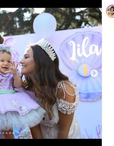 Gizem Hatipoğlu ile Hakan Hatipoğlu'nun kızı Lila 1 yaşında