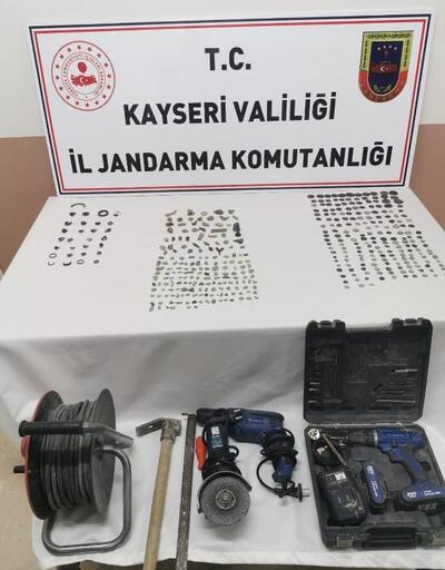 Kayseri'de tarihi eser operasyonu: 4 gözaltı