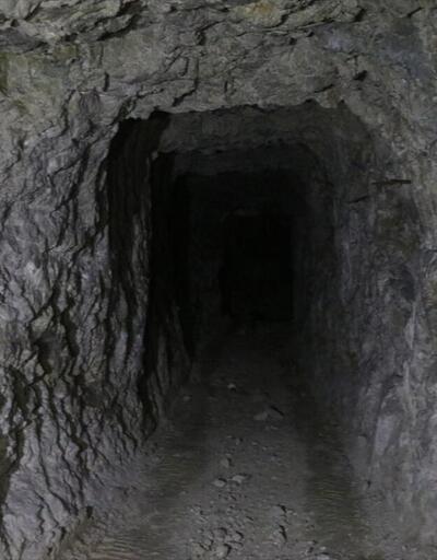 Teröristlerin tünel sistemi ortaya çıkarıldı