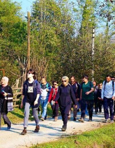 Doğa yürüyüşleri Akçay parkuru ile devam etti