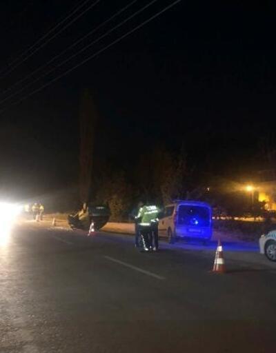 Gemlik'te otomobil ile traktör çarpıştı 2 yaralı