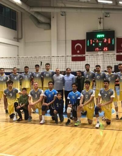 Konya Büyükşehir Belediyesi voleybol takımı, galibiyetle başladı