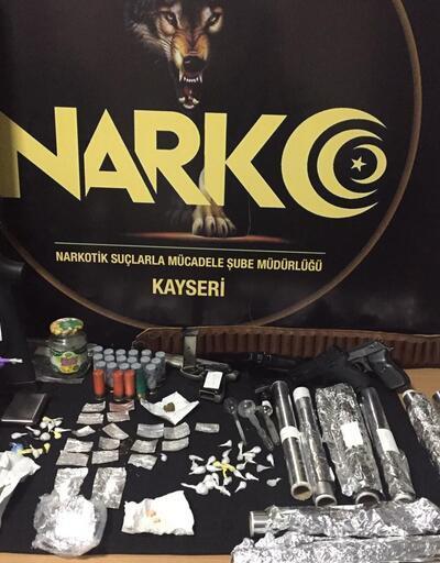 Kayseri'de 48 ekiple şafak operasyonu