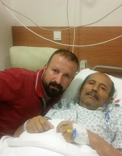 Babasına organ bağışlamak için 17 kilo verdi