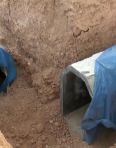 Tel Abyad'ı köstebek yuvasına çevirmişler