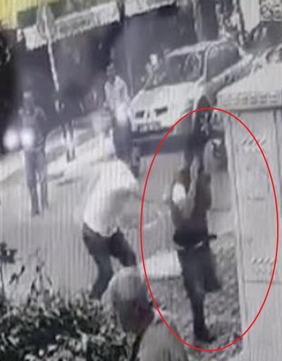Taciz şüphelisini dövüp, polis gelene kadar iş yerinde tuttular