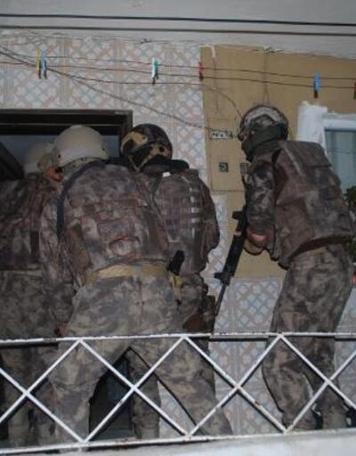 Denizli'de uyuşturucu operasyonu: 10 gözaltı