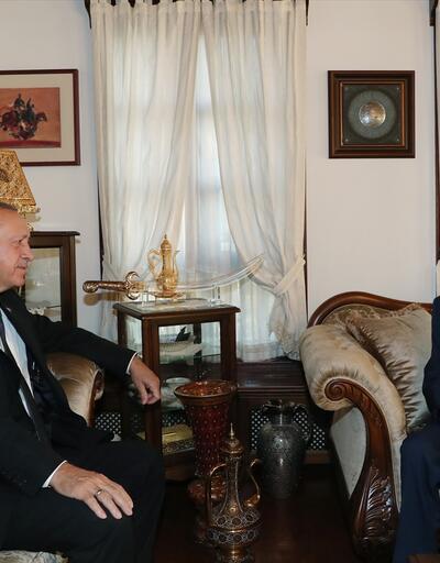 Son dakika... Cumhurbaşkanı Erdoğan'dan Bahçeli'ye geçmiş olsun ziyareti