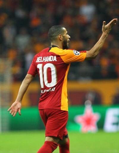 Galatasaraylı Belhanda özür diledi