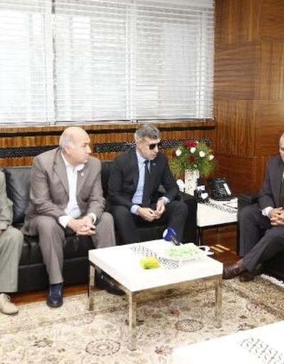Şehit Aileleri Derneği'nden Başkan Büyükkılıç'a ziyaret