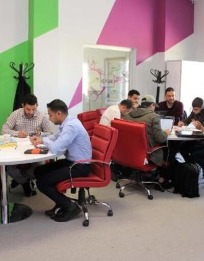 Filistinli girişimcilere Erciyes Teknopark'ta eğitim