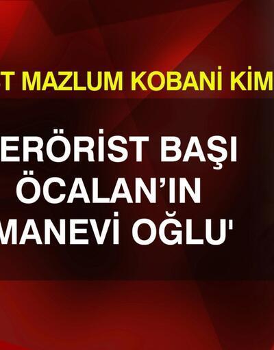 Terörist Mazlum Kobani kimdir?