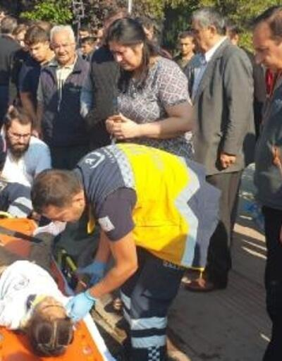 Yaya geçidinde otomobil çarpan Helin yaralandı