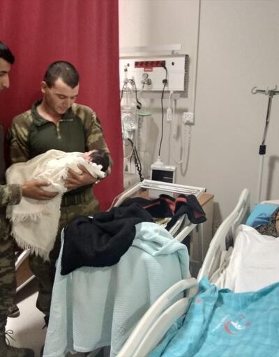 """Türk askerine """"Pınar""""lı teşekkür"""