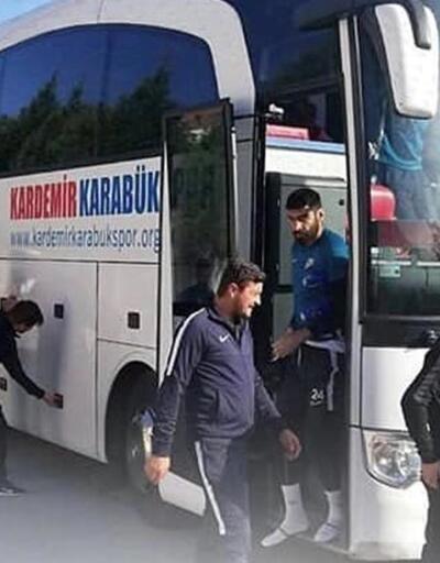 Karabükspor'dan Bandırmaspor'a jest
