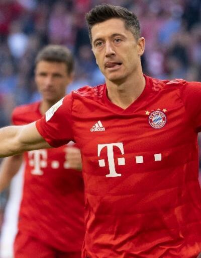 Lewandowski Bundesliga tarihine geçti