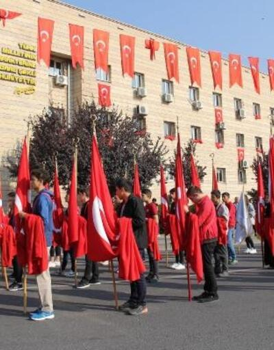 Kayseri'de 29 Ekim provası yapıldı