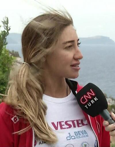 Şahika Ercümen dünya rekoru kırdı, duygularını CNN TÜRK'e anlattı