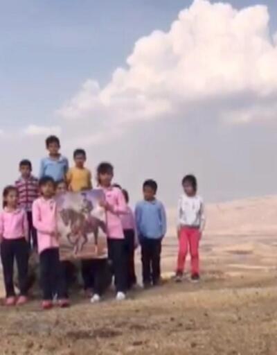 Değirmenüstü İlkokulu öğrencilerinden 29 Ekim klibi