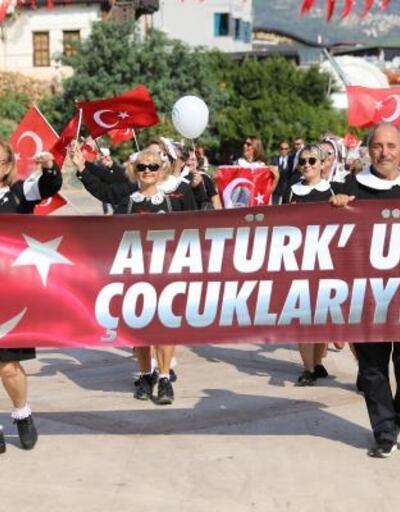 Alanya'da Cumhuriyet Bayramı coşkusu