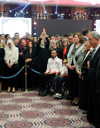 İşte Beştepe'deki 29 Ekim Cumhuriyet Bayramı kabul töreninden kareler