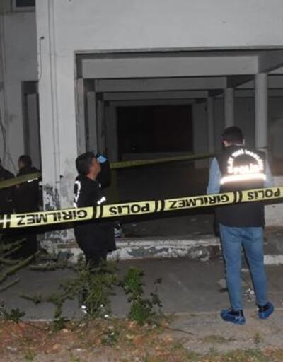 Metruk binadakicesedin yanında uyuşturucu malzemeleri bulundu