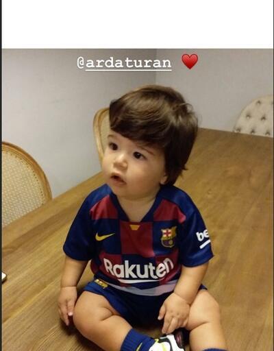 Arda Turan'ın oğlu formayı giydi