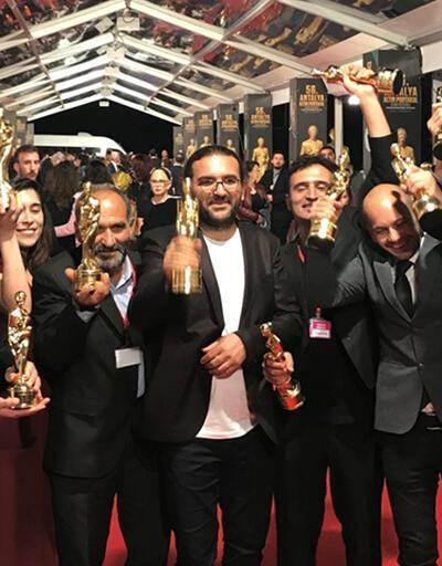 Altın Portakal'da 'Bozkır'a 10 ödül birden