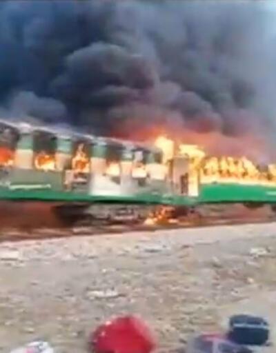 Patlayıp alev alan trenle ilgili feci iddia... 74 kişi hayatını kaybetmişti
