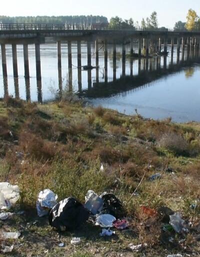 Meriç Nehri'nde temizlik