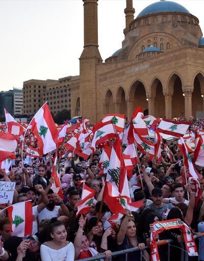 Lübnan'da protestoculardan eylemlere devam çağrısı