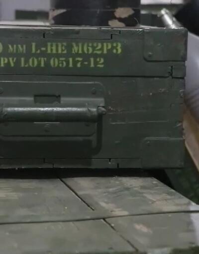 YPG/PKK'nın silah depolarında ABD'nin mühimmatları bulundu